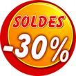 bouton soldes -30%