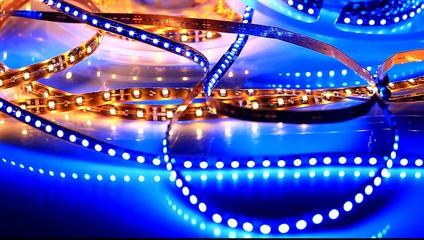 LED illumination show