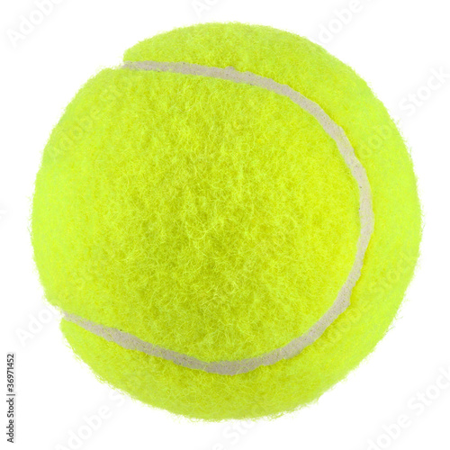canvas print picture tennisball