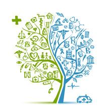 Koncepcji drzewa dla projektu medycznego