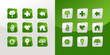 Go Green icons set