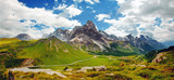 Italian Dolomiti - nice panoramic view