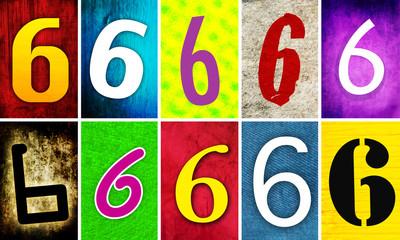 numéro 6 - six