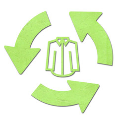 recycle Clothing symbol