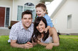 Portrait of Cheerful Family