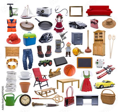 Viele Verschiednen Gegenstände