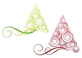 Alberi di Natale stilizzati