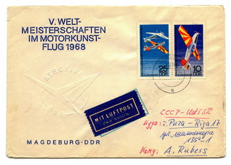 Vintage german envelope
