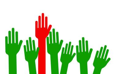 majorité absolue - vote à mains levées - débat