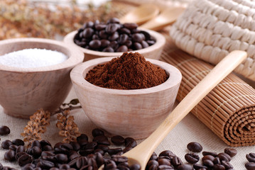caffè macinato - quattro