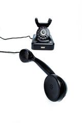 Antikes, altes Retro Telephon.