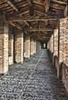 Imola Rocca Sforzesca walkway, Italy