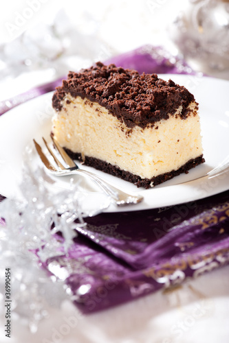 Delicious Cheesecake for Christmas