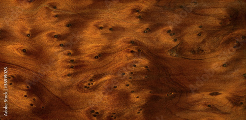 brown burl wood detail