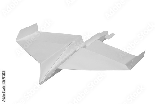 white paper plane - 36991253