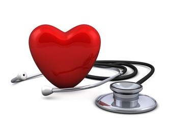 Stethoskop - Herz