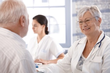 Healthcare consultation at old age