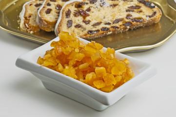 Orangeat und Citronat