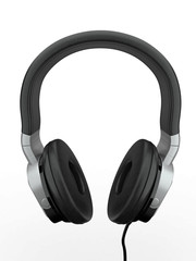 Headphones. 3d