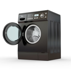 Open washing machine