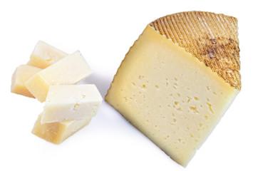 Tapa e queso manchego.