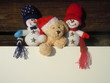 christmas stuffed toys advertisement