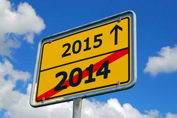 Jahreswechsel 2014-2015