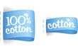 Clothing labels for cotton production