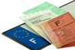 permis, immatriculation, assurance, plaque ...