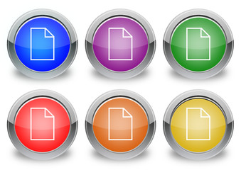"Document ""6 buttons of different colors"""