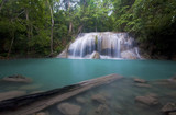 Arawan waterfall in thailand
