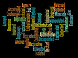 Negative Emotion word clouds