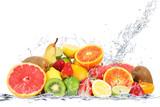 Fototapety frutta splash