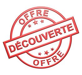 """""""Offre Découverte"""" Cachet (rouge)"""