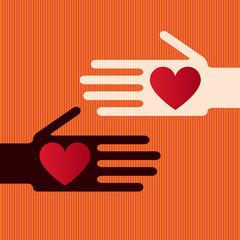 Hand Freundschaft