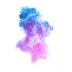 Abstrakte Farbe Wolke