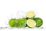 Fototapety lime splash