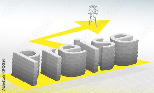 Preiserhöhung - Strompreise