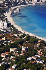 Panorama del golfo di Mondello