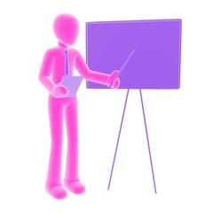 presentation pink