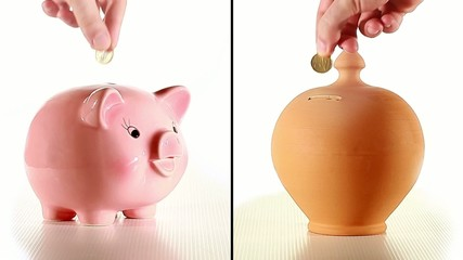 Two types of moneybox