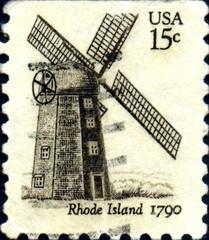 Rhode Island 1790. US Postage.