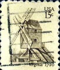 Virginia 1720. US Postage.
