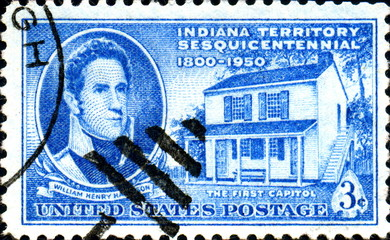 Indiana Territory. The First Capitol. US Postage.