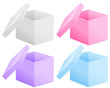 оpen paper boxs