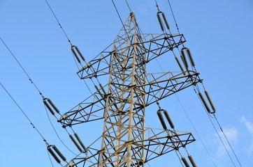 High voltage electric construction