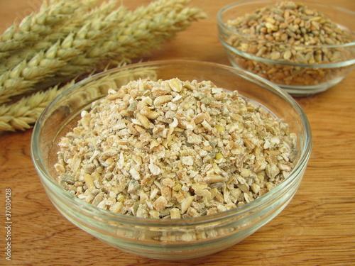 Getreide und Schrotgetreide