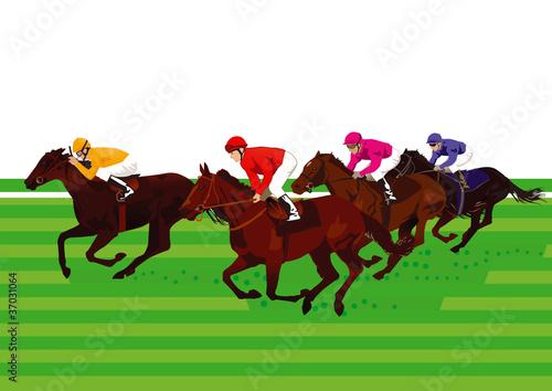 Pferderennen und Derby