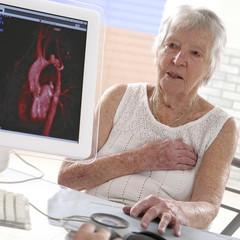 Cardiomogie - Femme senior