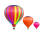 Fototapety air-balloons with path